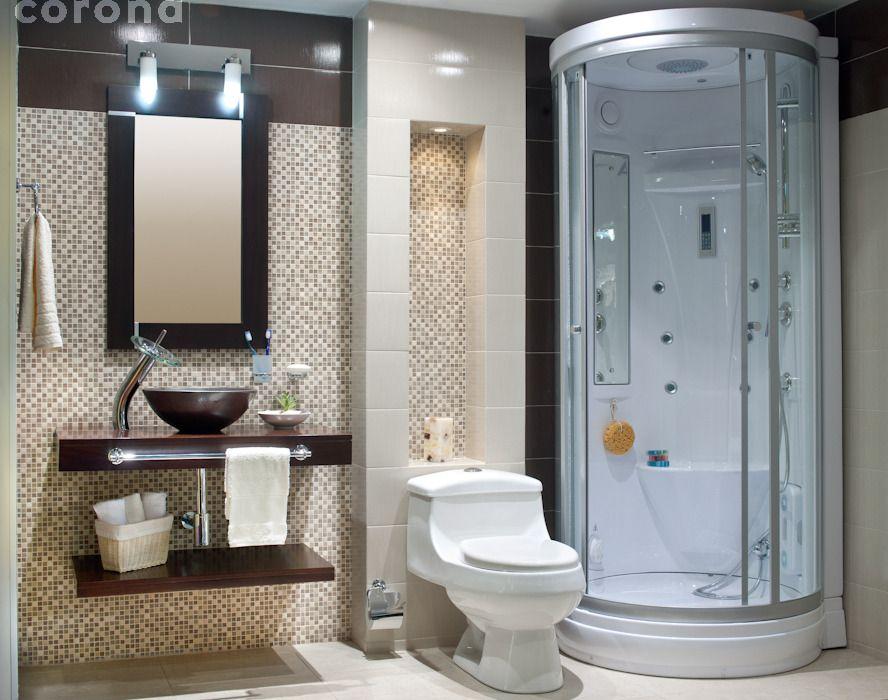 Ba o corona inspira cabina de hidromasajes imagina - Banos de lujo modernos ...