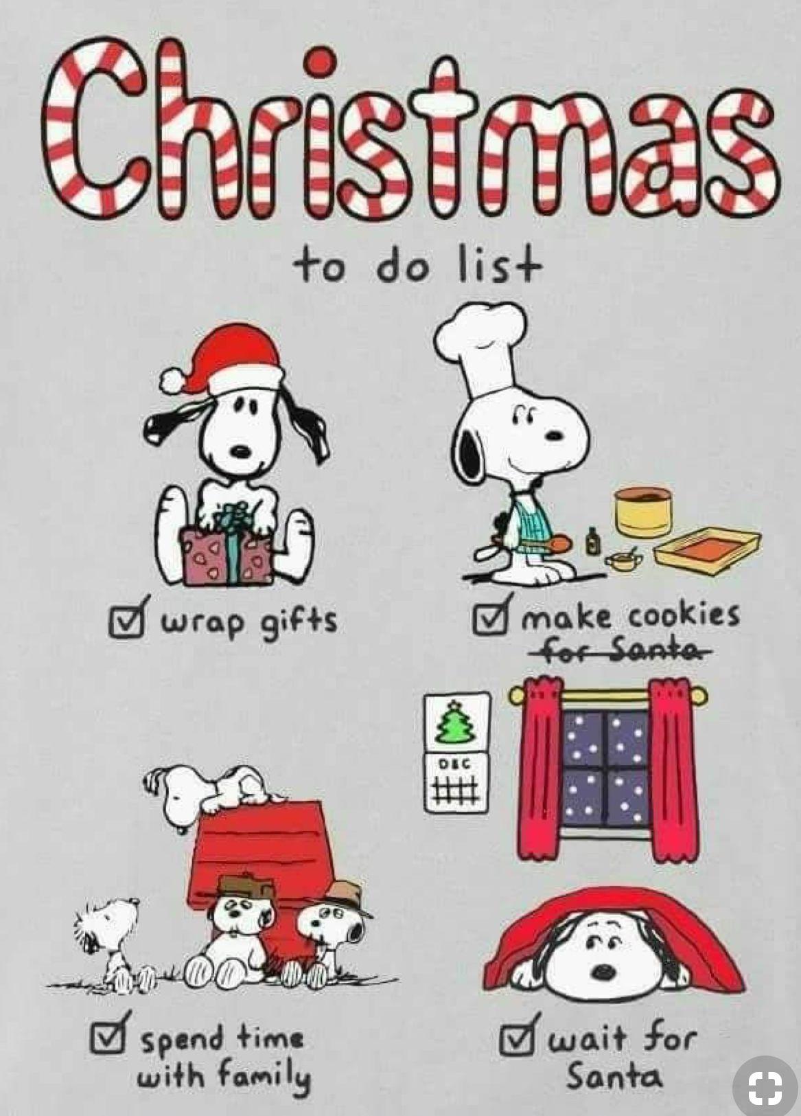 Frohe Weihnachten Peanuts