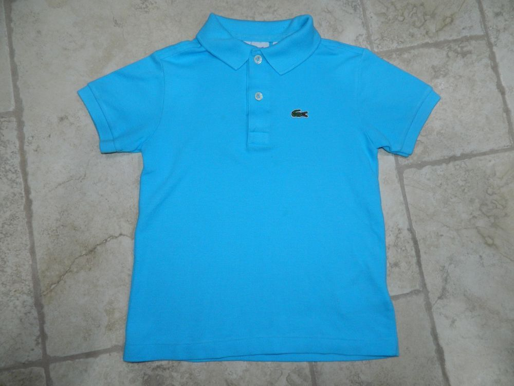 Lacoste Boys Blue Polo Shirt sz 6 (116) MINT   13.00 End Date  Sunday  Sep-30-2018 7 39 37 PDT Buy It Now for only   13.00 Buy It Now  74f50e98a3