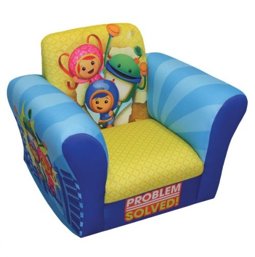 Team Umizoomi Problem Solved Small Standard Rocker