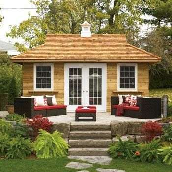 Backyard bungalow great for home office guest house or for Backyard guest cottage