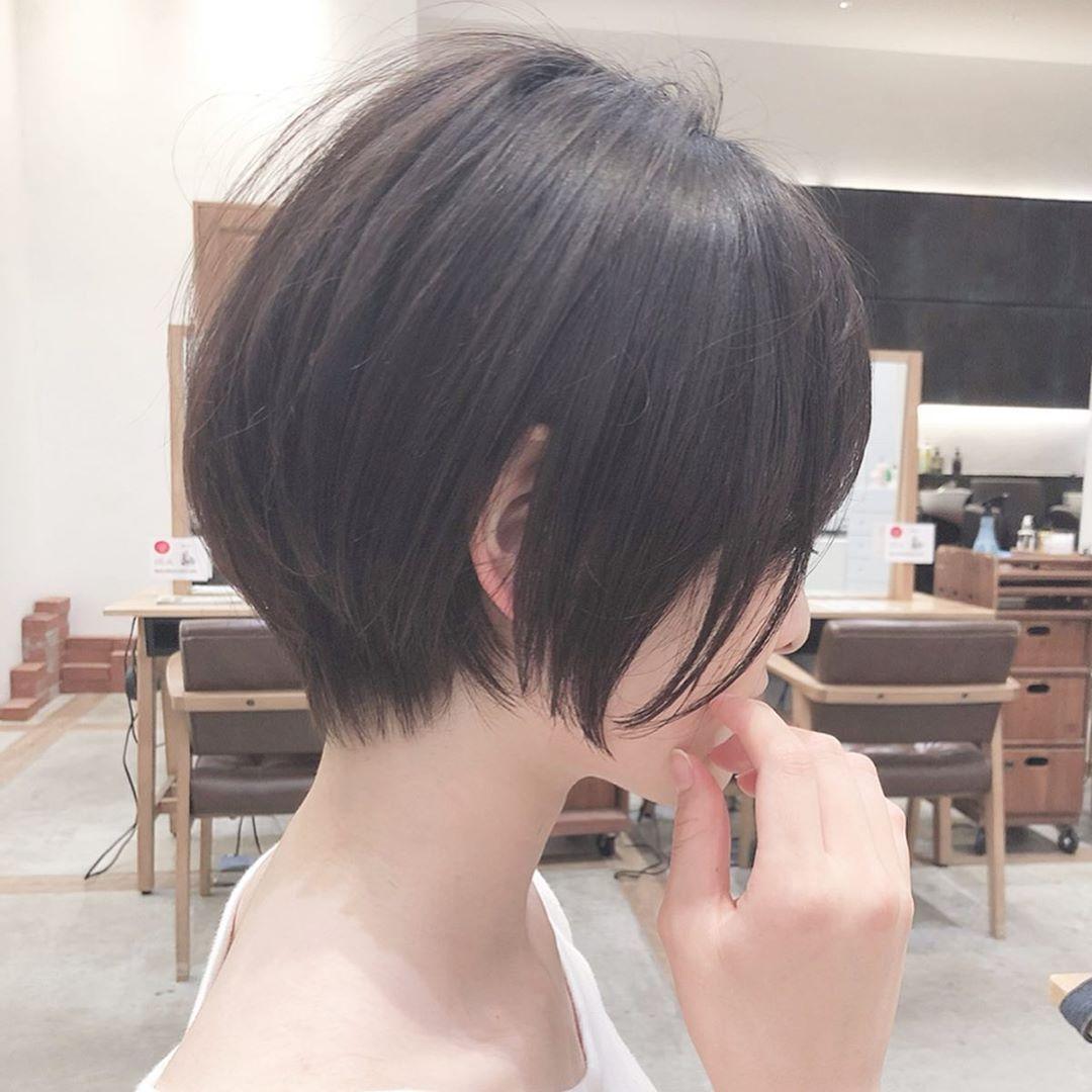 ショートボブ ヘアカタログ 戸崎亨祐 On Instagram 大人可愛い