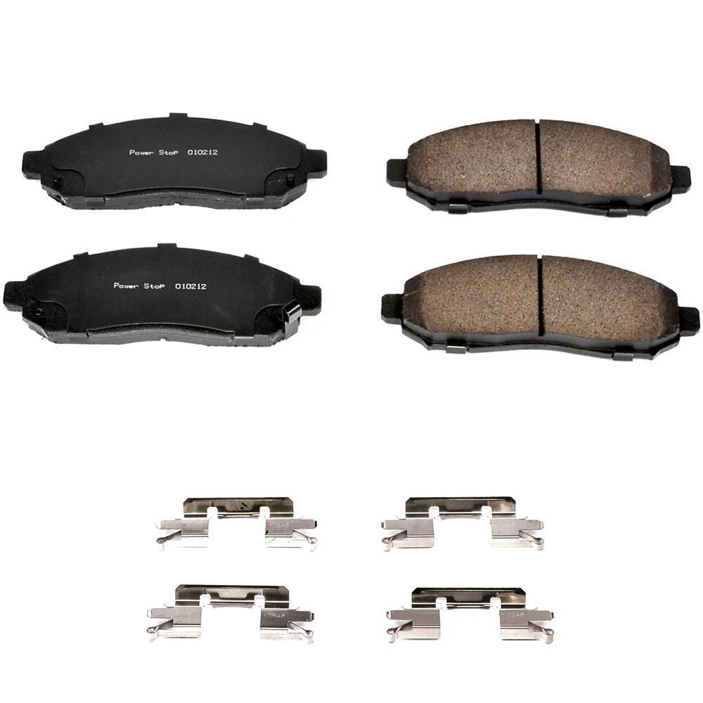 Power Stop Disc Brake Pad Set 17 1094 Ceramic Brake Pads Ceramic Brakes Brake Pads