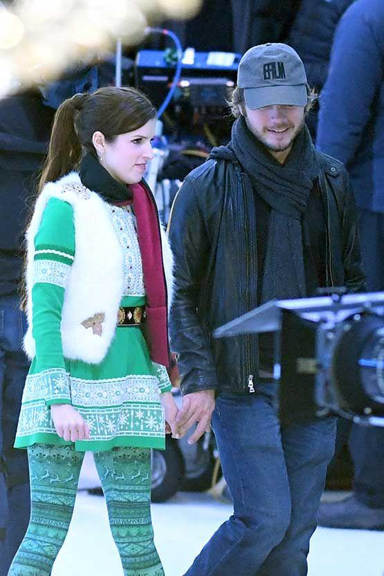 Anna Kendrick Gets Thanksgiving Visit From Boyfriend Ben