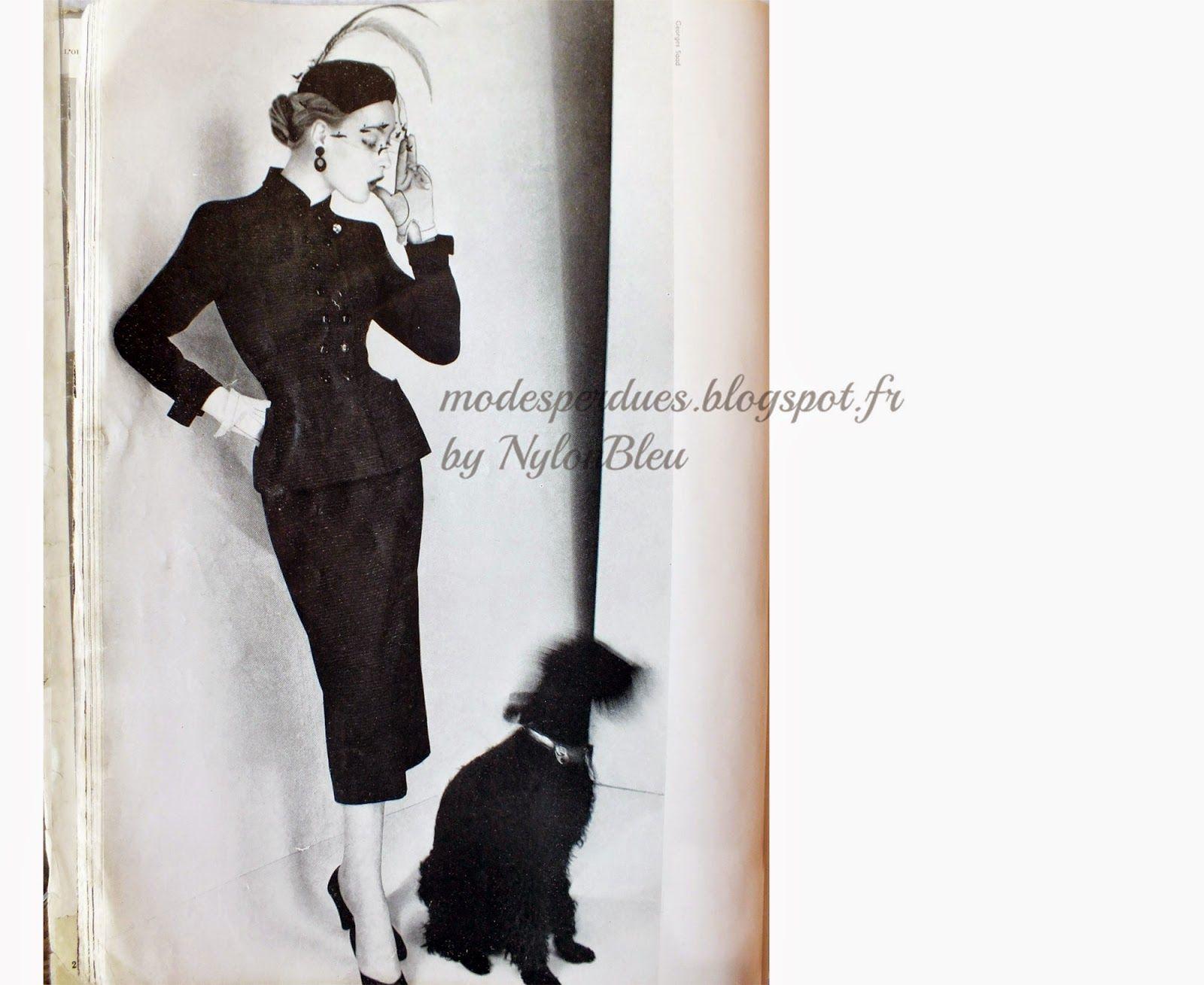A la Recherche des Modes Perdues et Oubliées: L'Officiel - Octobre 1951 *