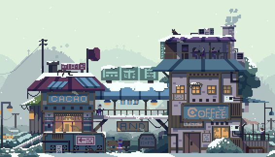 "Faxdoc on Twitter: ""happy winter holidays #pixelart #animation https://t.co/wdcxRmAqxK"""
