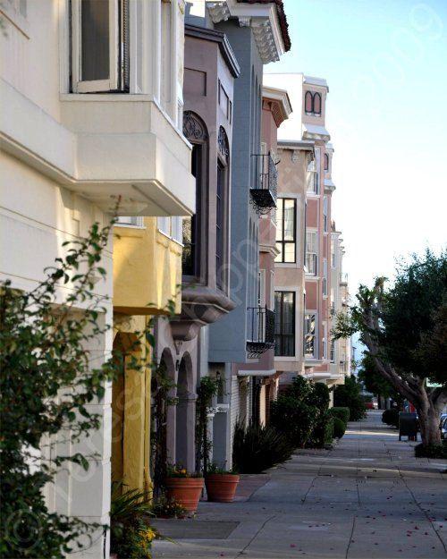 Cute Houses in San Francisco  8 x 10  Fine by PhotosByChipperfield, $25.00