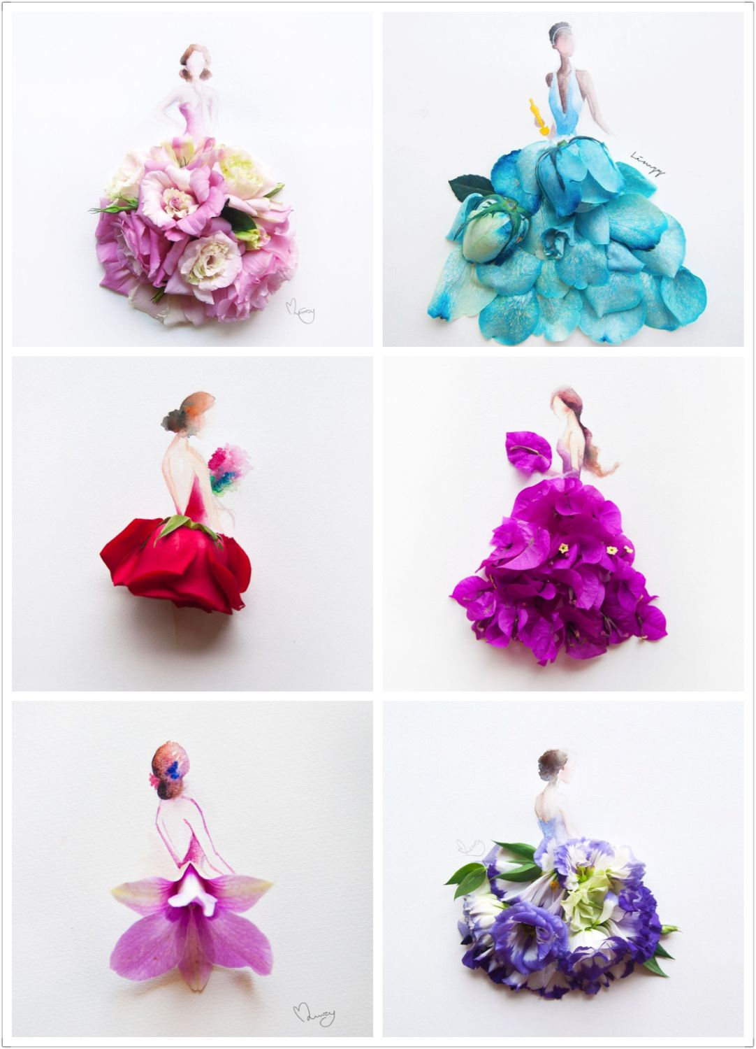 Happy Mothers Day Beautiful Flower Art By Limzy For All Beautiful