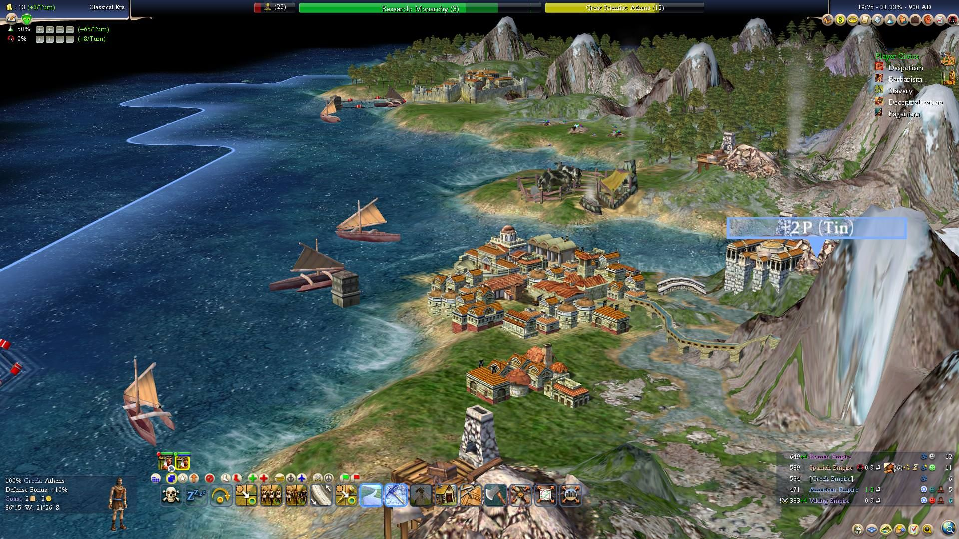 Civ 4 surely looks great with mods even today