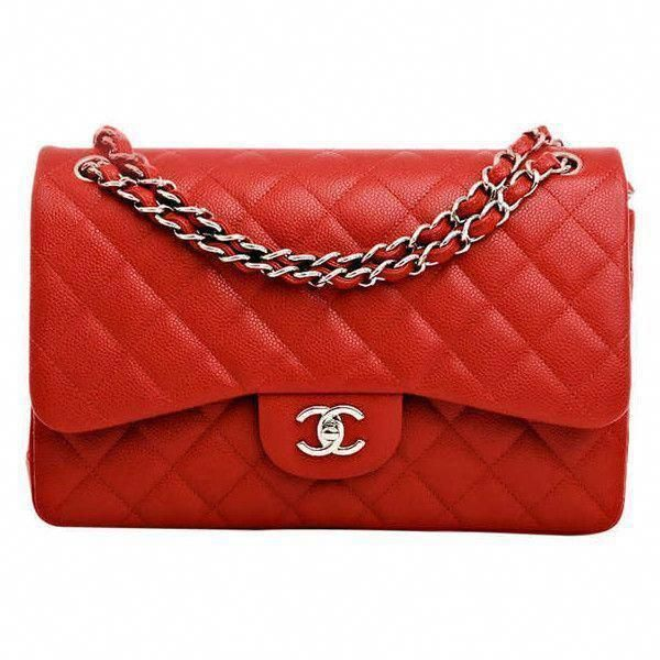 d3da564cb2a1 Chanel Lipstick Red Quilted Caviar Jumbo Classic 2.55 Double Flap Bag  (39.690 VEF) ❤