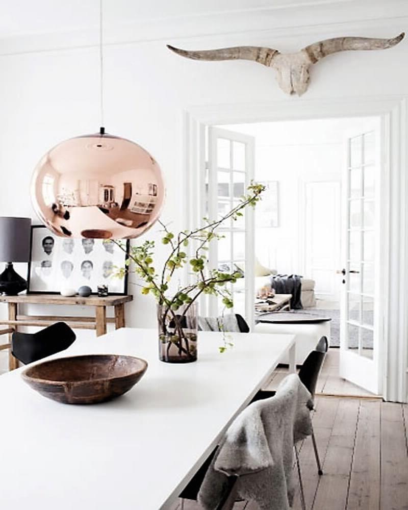 Scandinaviandiningroomdesign4Darkbrownstainedteakarmless Cool Scandinavian Dining Room Review