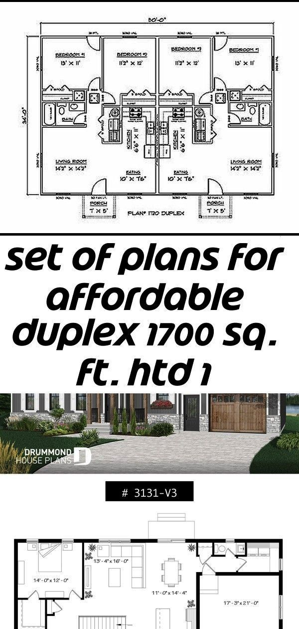of plans for affordable duplex 1700 sq ft htd 1 Set of plans for affordable duplex 1700 sq ft htd 1 Set of plans for affordable duplex 1700 sq ft htd 1 House Design 8x11...