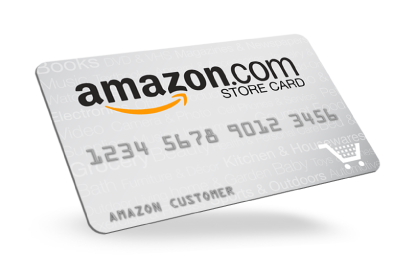 Amazon.com Credit in 12  Amazon store card, Amazon gift card