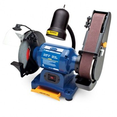 Eastwood 1 2hp 8in Combination Bench Grinder And Belt Sander Father S Day Gifts Hot Deals Bench Grinder Belt Sander Grinder