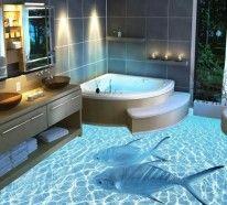 3d bodenbelag aus epoxidharz innovative technologie und naturmotive bad pinterest. Black Bedroom Furniture Sets. Home Design Ideas