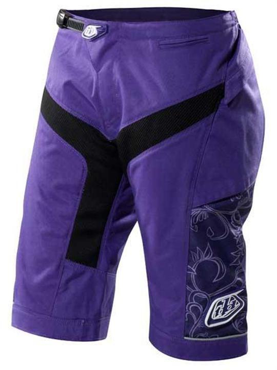 Troy Lee Designs Purple Moto Womens MTB Shorts  45adcd349