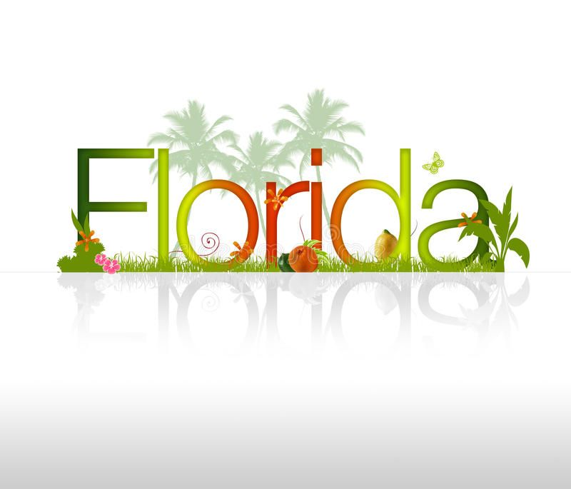 Florida High Resolution Florida Graphic With Tropical Elements Ad Resolution High Florida Elements Tropical Ad Moving To Florida Florida Moving