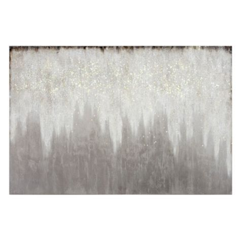Evening Etoile 2 From Z Gallerie Glitter Wall Art Stylish Home Decor Living Room Diy