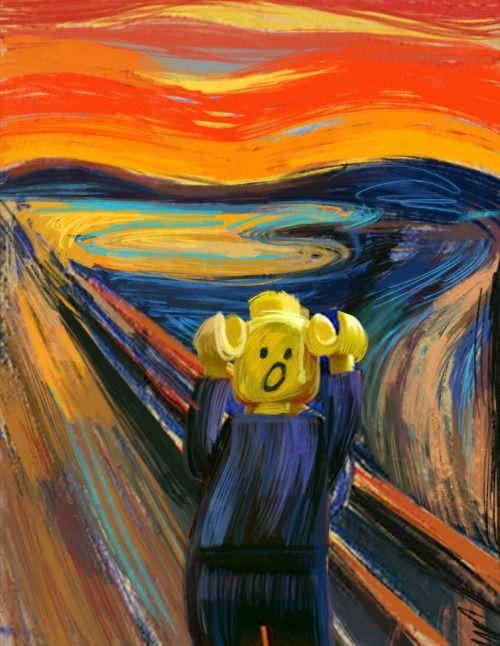 scream painting parody wwwpixsharkcom images