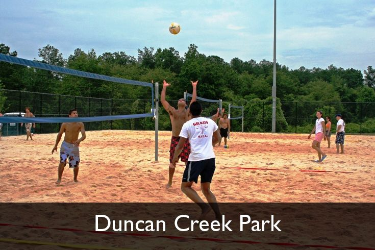 Sand Volleyball Courts Duncan Creek Park Dacula Georgia Www Gwinnettparks Com In 2020 Sand Volleyball Court Park Parks And Recreation