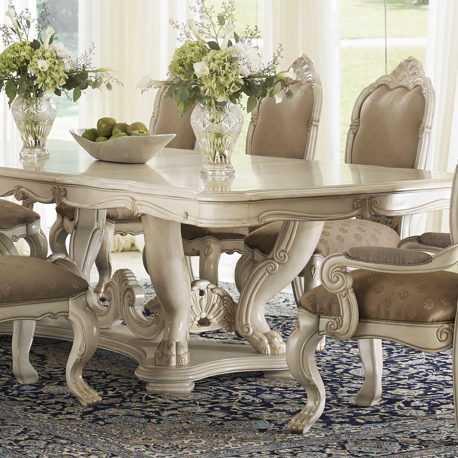 Chateau De Lago Michael Amini Furniture Designs Amini Com Dining Room Furniture Sets Table Dining Table