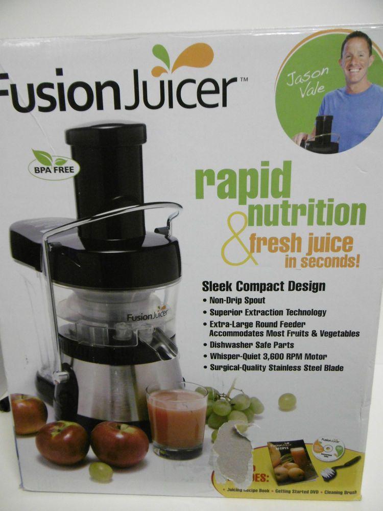 Fusion Juicer, Blackstainless Steel