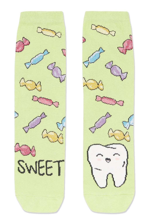 Sweet Tooth Ankle Socks - Topshop