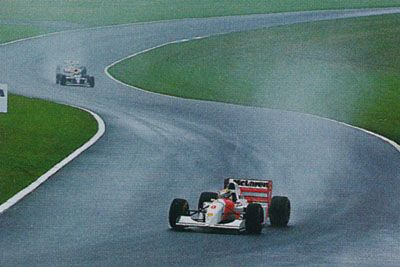Ayrton Senna at his best