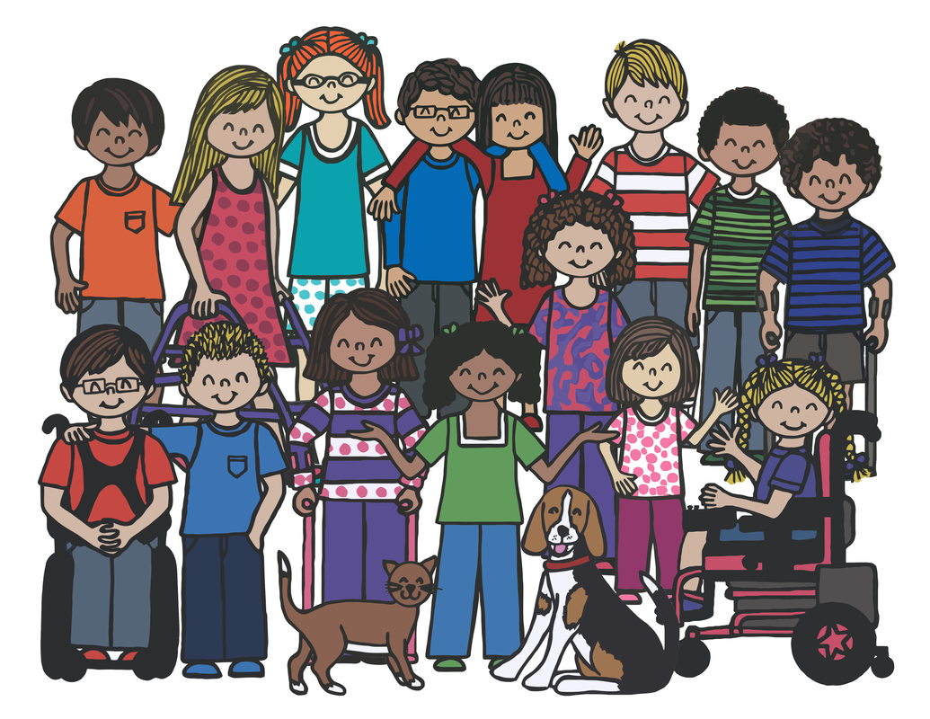 Free Inclusive Coloring Pages For Kids With Special Needs