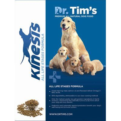 Kinesis All Life Stages Dry Dog Food Size 30lb Bag To View