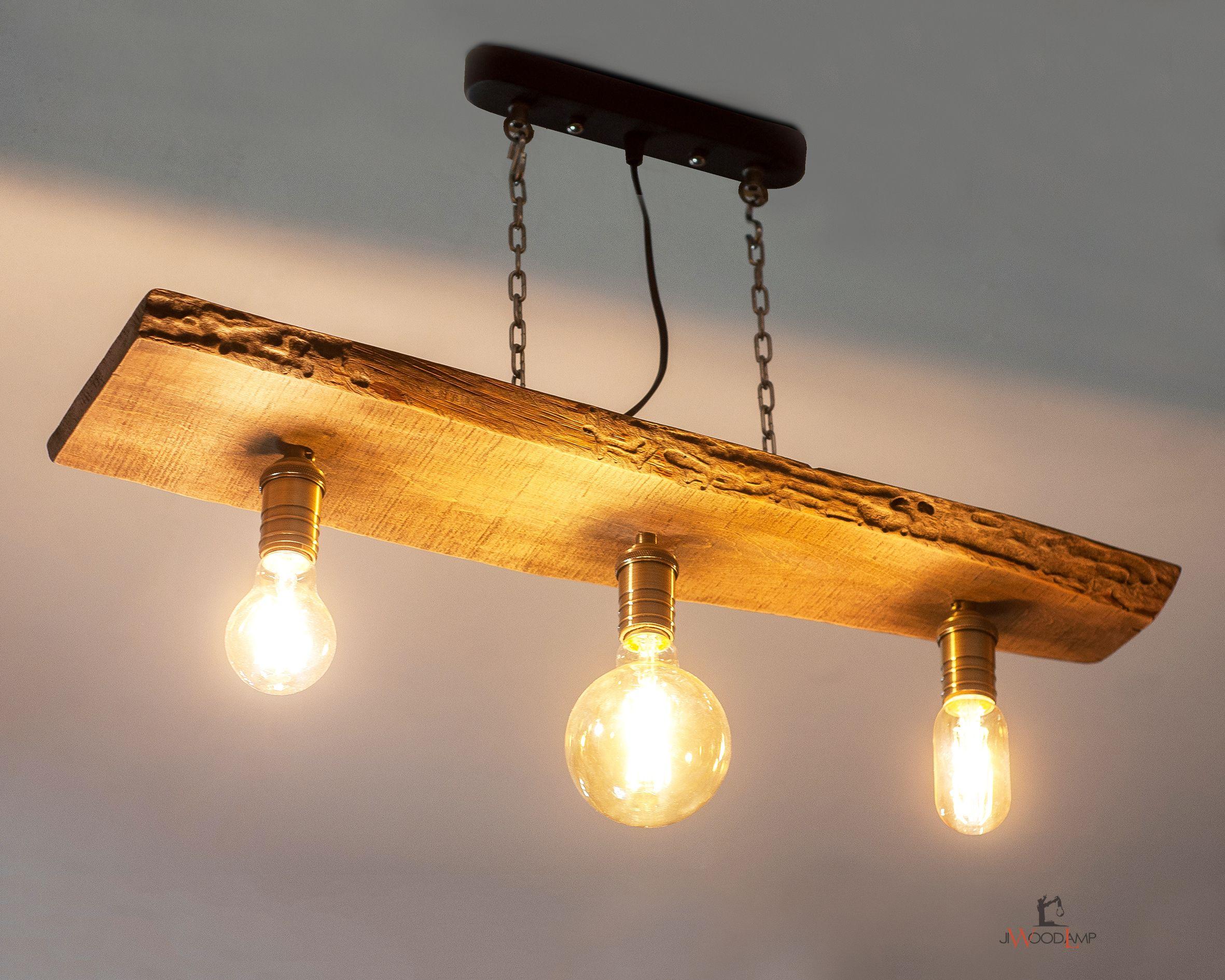 Wood Pendant Lamp Three Bulb Wood Hanging Lamp Pendant Light Wood Lamp Wooden Lamp Wooden Chandelier Wood Hanging Lamp Ceiling Lamp In 2020 Wood Pendant Lamps Wooden Chandelier Wooden Lamp