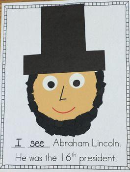 Presidents Day Craft Book Social Studies Kindergarten Social