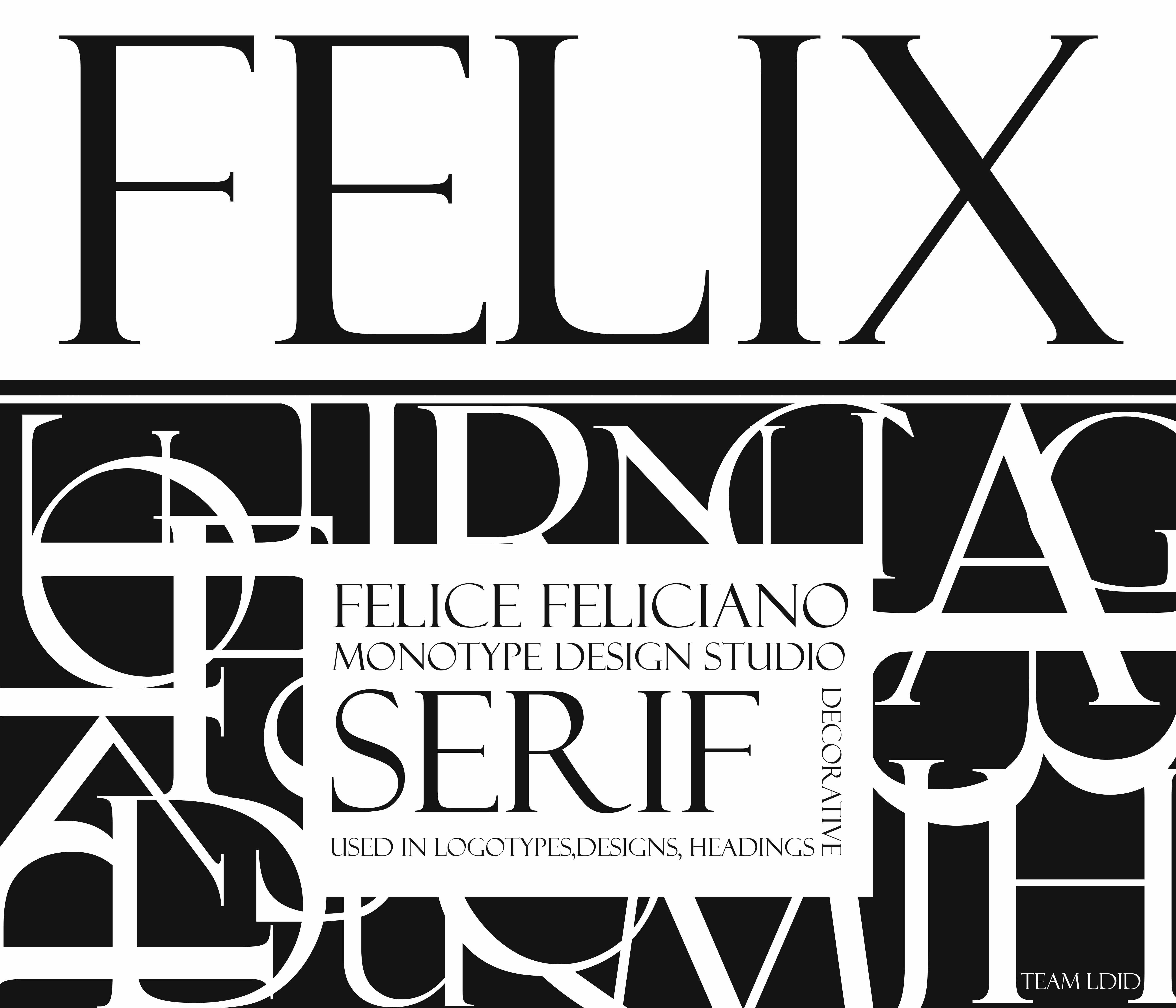 Felix Font | Fonts | Home decor, Artwork, Decor