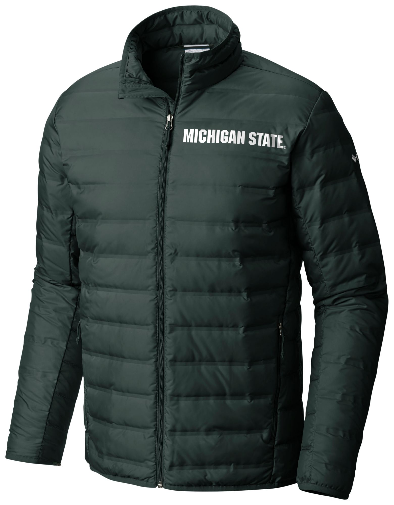 4e999183f65ca Columbia Men s Michigan State Spartans Green Lake 22 Down Jacket ...