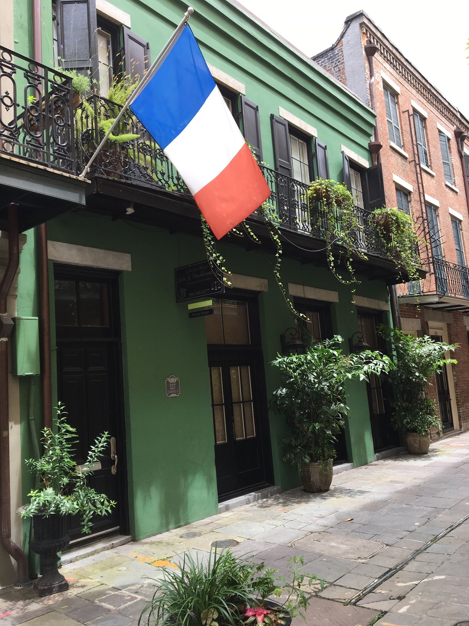 327 Exchange Place French Quarter Built In 1840 Outdoor Decor French Quarter Outdoor