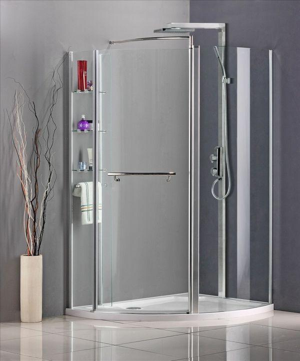 fertigduschkabinen glastüren dusche badezimmer Badezimmer Ideen - glastür für badezimmer