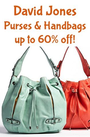 David Jones Purses and Handbags ~ up to 60% off!!  purses  9f1ca4738cec4