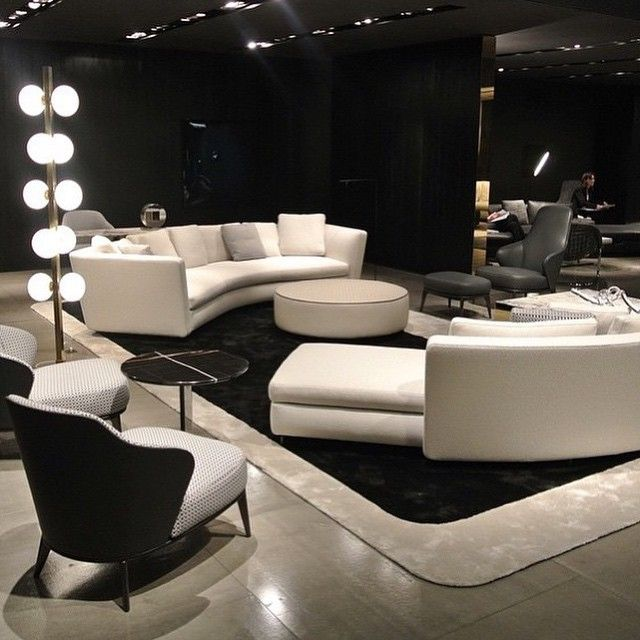 Mais do Salone Del Mobile 2015 New furniture from Minotti. Photo credit ararquiteturadesign.com.br