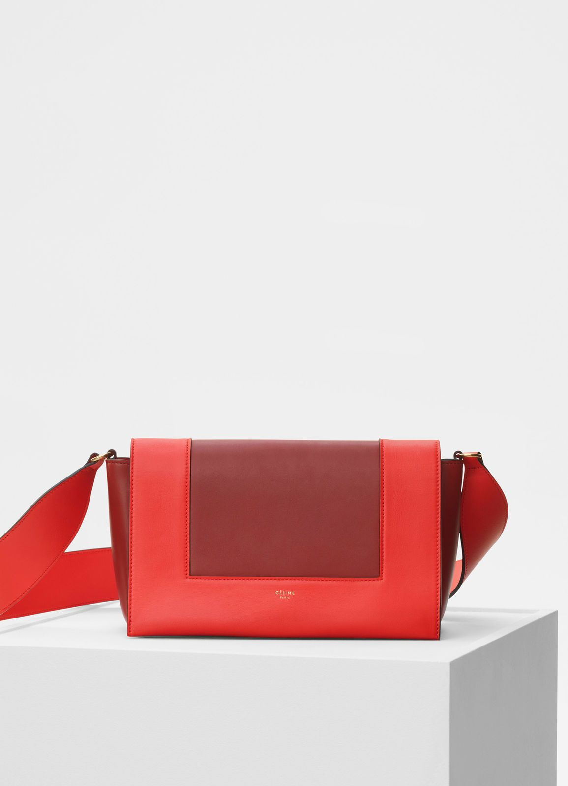 Medium Frame bag in shiny smooth calfskin   CÉLINE   Handbags in ... 9c2f6e0bd2