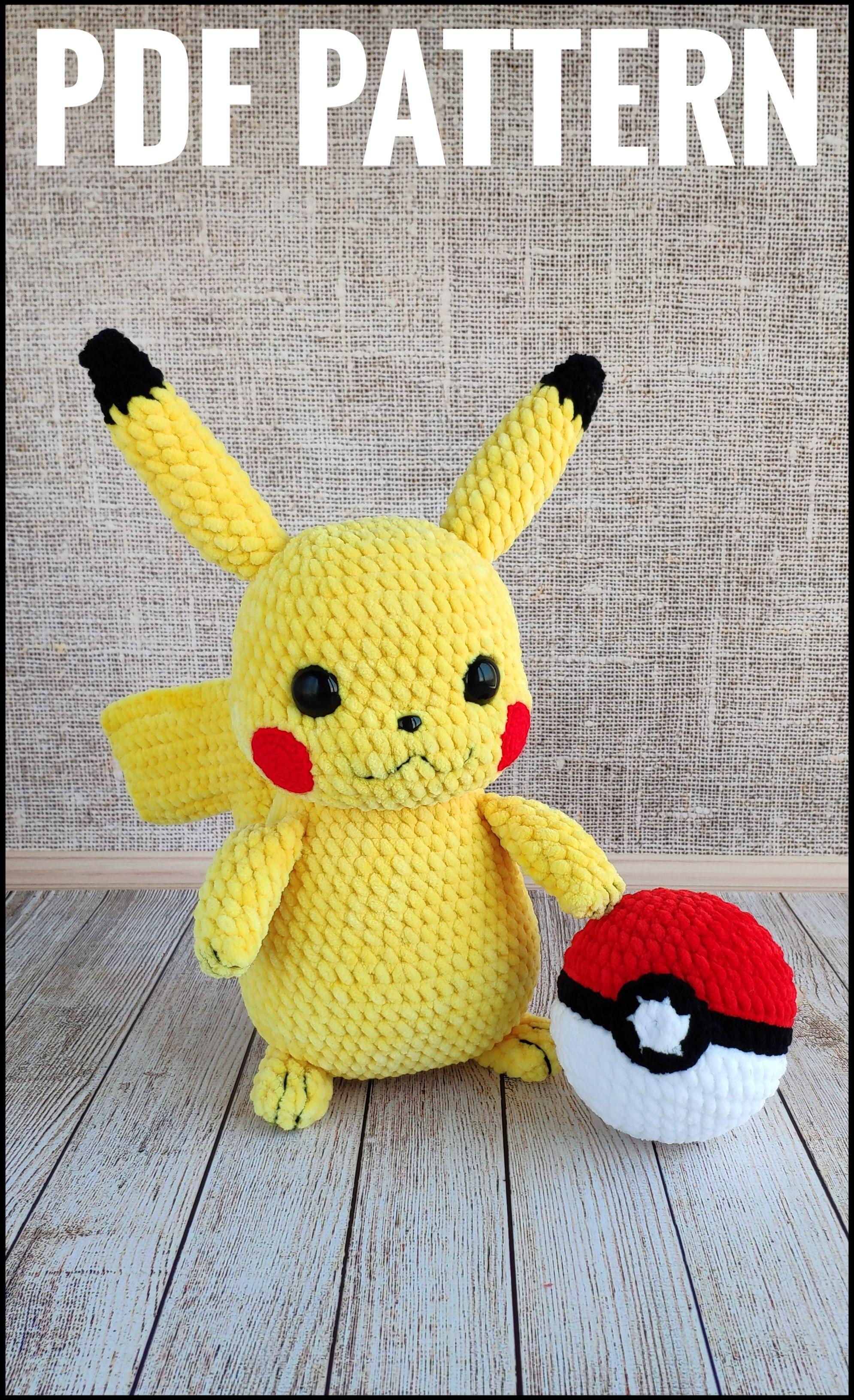 muster # amigurumi # pokemon # jamecrochet # häkeln | Kawaii ... | 3259x1990