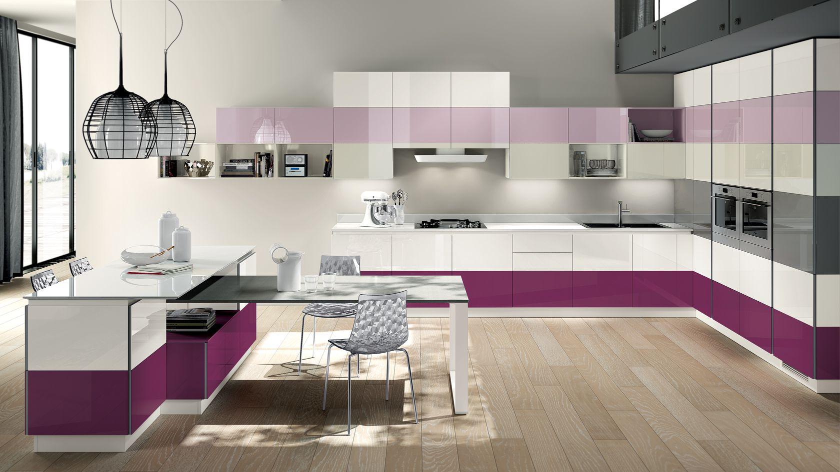 Cucina componibile Tetrix | Sito ufficiale Scavolini | Kitchen ...