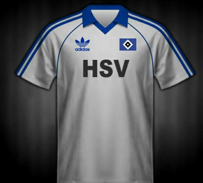 f19def3e89761 Hamburg SV shirt for the 1980 European Cup Final. Seleção Do Mundo