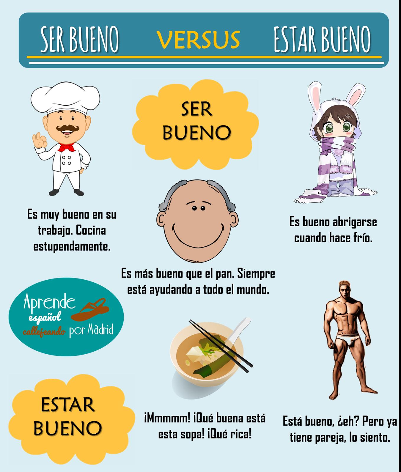 Ser o estar | Soanish | Pinterest | Spanish, Language and Spanish ...
