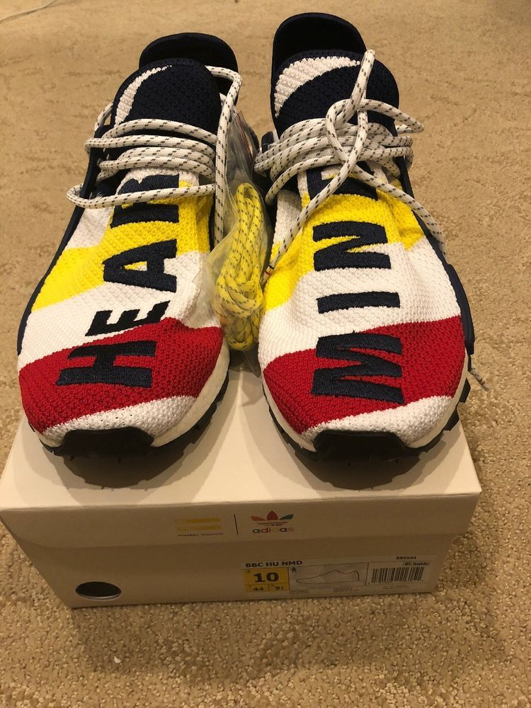 lowest price fe2d5 9e8a8 Billionaire Boys Club x Adidas Nmd Hu Pharrell Size 10 BBC ...