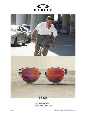 0OO9265 from Luxottica  Be Bold in the Oakley Latch 0OO9265