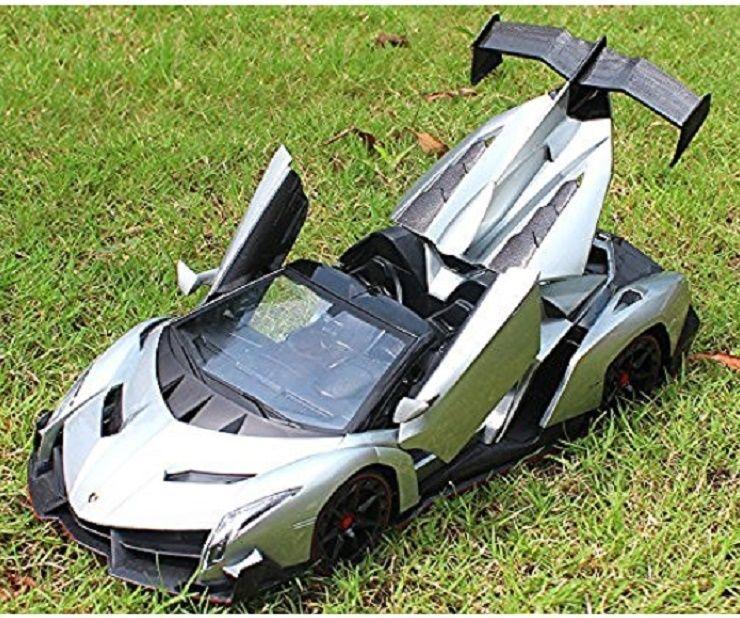 Remote Control RC Car Kids Men Toy 1/14 Lamborghini Veneno Electric Super  Sport #