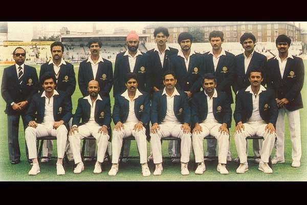 1983 Indian Team Cricketnmore World Cricket World Cup Teams Cricket Sport