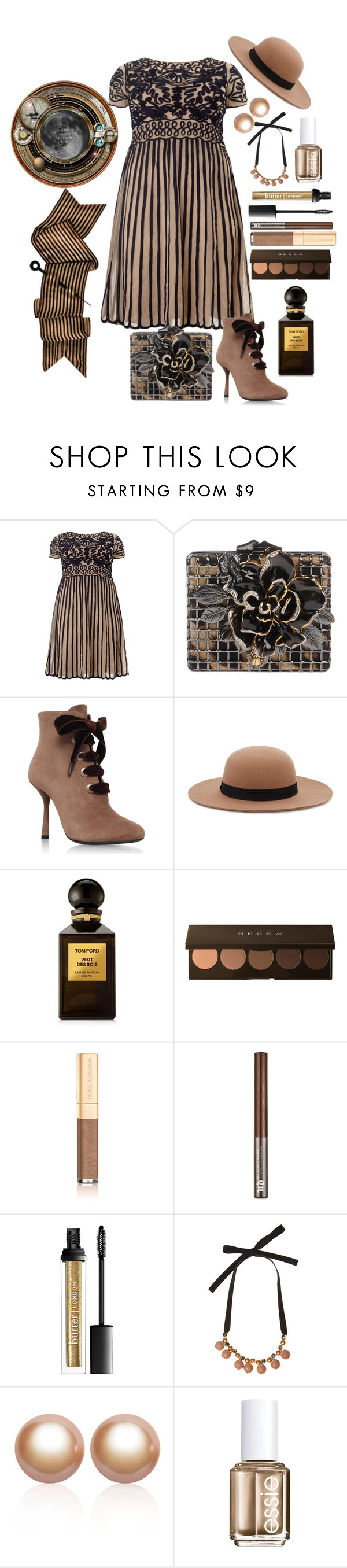 """""""My Vintage Style"""" by loves-elephants ❤ liked on Polyvore featuring Studio 8, Roberto Cavalli, Lanvin, Forever 21, Tom Ford, Becca, Dolce&Gabbana, Urban Decay, Marni and Amour de Pearl"""