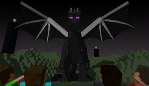 Enderdragon pose I want for our sculpture in the yard. This is going to be pretty damn epic!