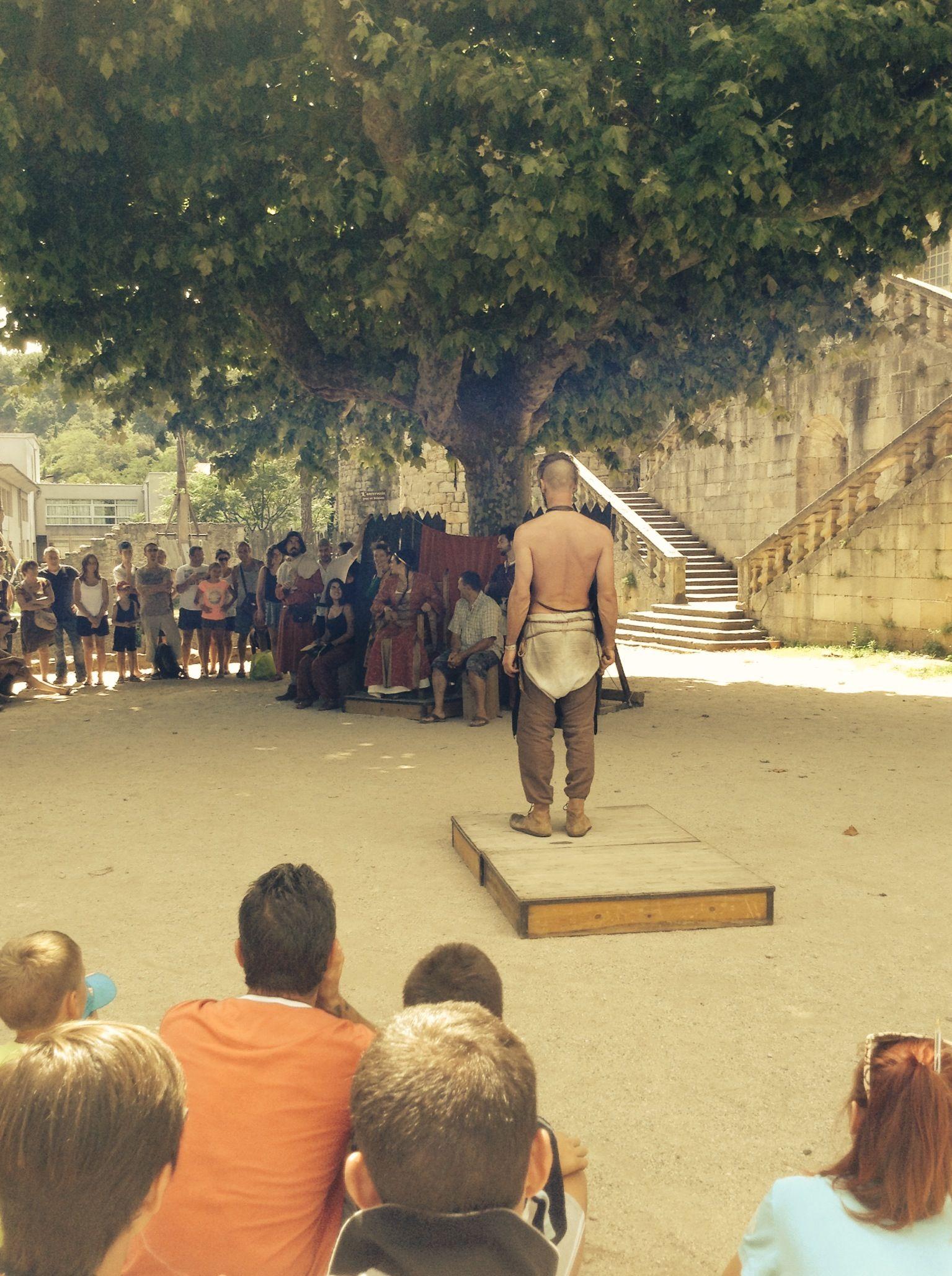 Middeleeuwse talentenjacht op het chateau